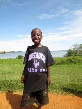 John (Ben) Kasita, George Street Middle School's sponsor child.