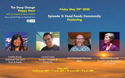 Food Feeds Community: Deep Change Happy Hour, Our Second Episode